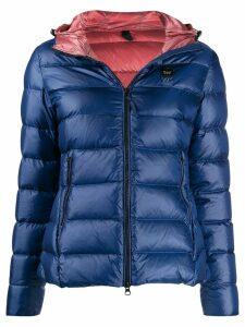 Blauer hooded down jacket - Blue