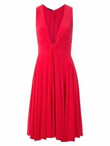 Tufi Duek short draped dress - Red