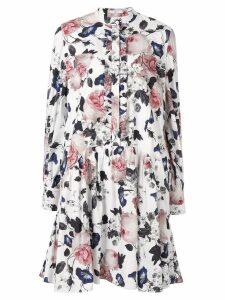 Erdem Quentin floral print dress - White