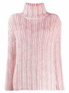 Ermanno Scervino crystal embellished jumper - Pink