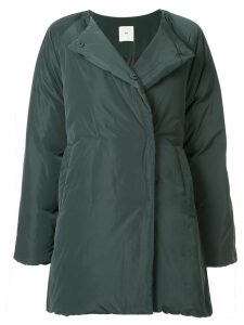 Kuho collarless padded coat - Green