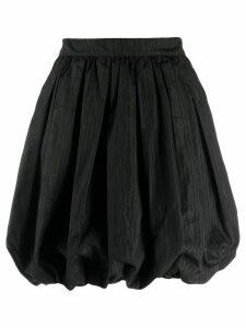 MSGM puff mini skirt - Black