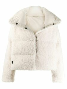 Bacon Bear coat - White