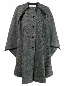 See By Chloé oversized cape coat - Black