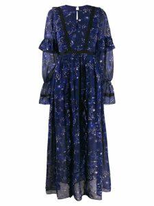 Three Floor Eventide dress - Blue