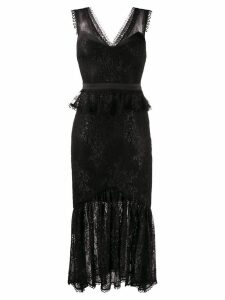 Three Floor Hypnotic dress - Black