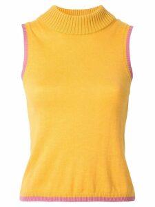 Rachel Gilbert Kendrix knit top - Yellow