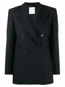 Sandro Paris pinstriped blazer - Black