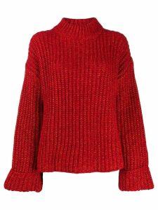 Essentiel Antwerp oversized Trial jumper - Red