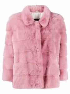 Simonetta Ravizza Atene faux fur coat - Pink