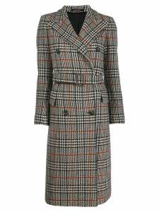 Tagliatore Jole double-breasted coat - Neutrals