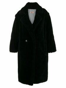 Yves Salomon Meteo double buttoned coat - Black