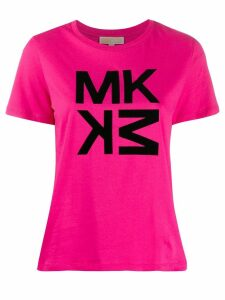 Michael Kors Collection logo print T-shirt - Pink