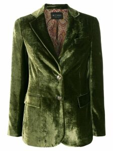 Etro single-breasted blazer - Green