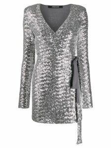 Andamane Bonnie sequin dress - Silver