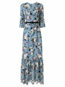 Erdem Senna floral-print dress - Black