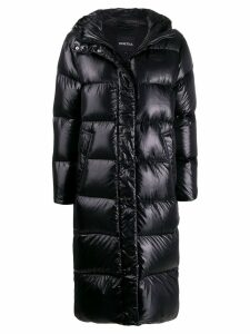 Duvetica long padded coat - Black