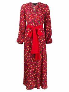 Saloni Lucia dress - Red