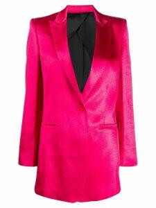 Philosophy Di Lorenzo Serafini peaked lapel blazer - Pink
