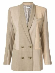 Rejina Pyo patchwork blazer - Brown