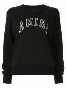 AMIRI logo print sweatshirt - Black