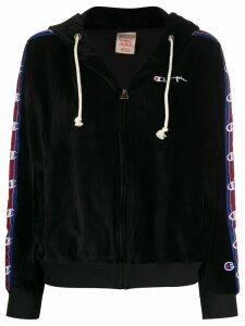 Champion corduroy zip-up hoodie - Black