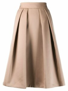 Giorgio Armani pleated skirt - NEUTRALS