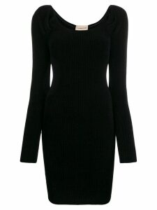 Alexandre Vauthier fitted mini dress - Black