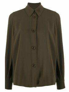 Aspesi oversized button shirt - Green