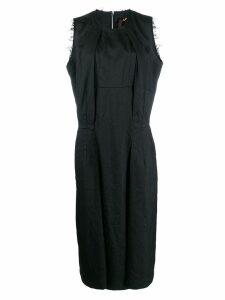 Comme Des Garçons boxy fit sleeveless dress - Black