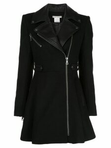 Alice+Olivia Cody biker-style coat - Black