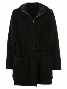 Uma Raquel Davidowicz Drexter hooded coat - Black