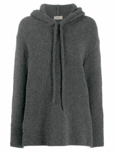 Maison Flaneur relaxed-fit hoodie - Grey