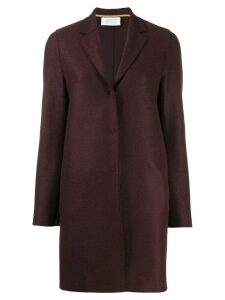 Harrys of London single-breasted coat - Red