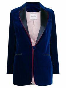 Hebe Studio velvet jacket - Blue