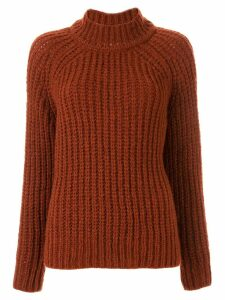 Forte Forte long-sleeve fitted sweater - Red