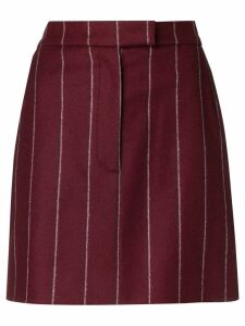 Thom Browne Shadow Stripe Mens Fit Miniskirt - Red