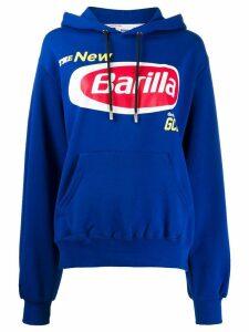 Gcds Graphic print hoodie - Blue