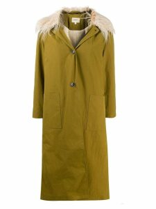 Bellerose single breasted coat - Green