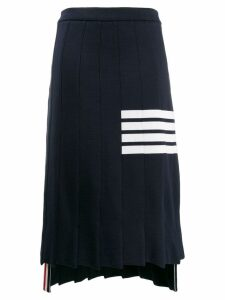 Thom Browne 4-Bar Trompe L'oeil Skirt - Blue