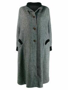 Blazé Milano checked coat - Grey