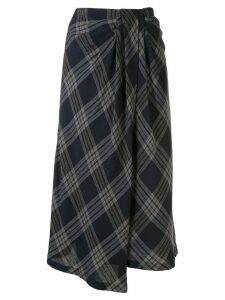 Vince tucked waist skirt - Blue