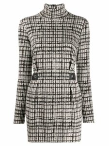 Patrizia Pepe check dress - Grey