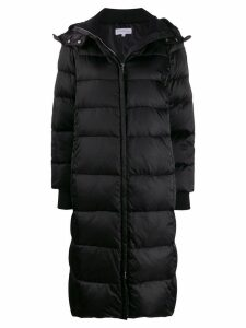 Patrizia Pepe padded zip-up coat - Black