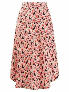 Stella McCartney floral midi skirt - Pink