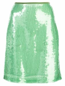 Opening Ceremony short sequined skirt - Green