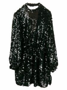 MSGM sequins short dress - Black