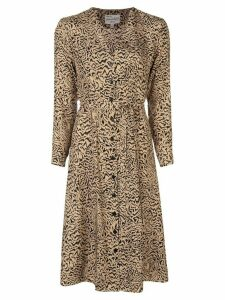 HVN Lauren dress - Brown