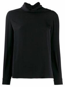 Fabiana Filippi turtle neck sweatshirt - Black