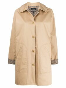 A.P.C. Cozba coat - Brown